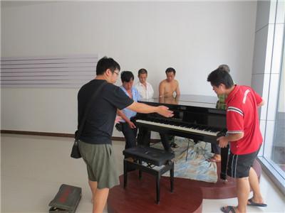 电钢琴搬运音响